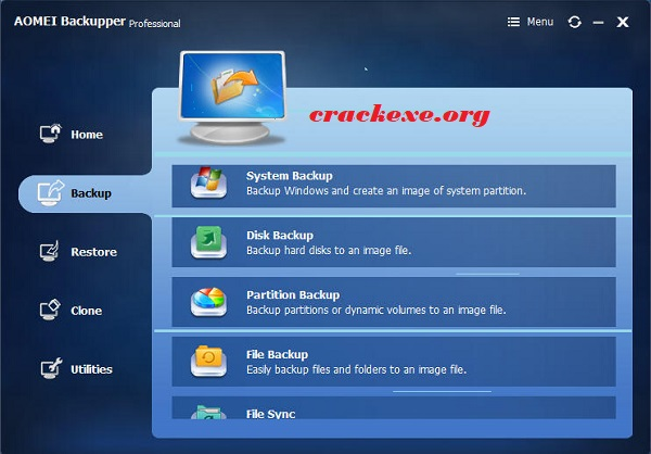 AOMEI Backupper 5.2.0 Crack With License Key [All Edition] Free
