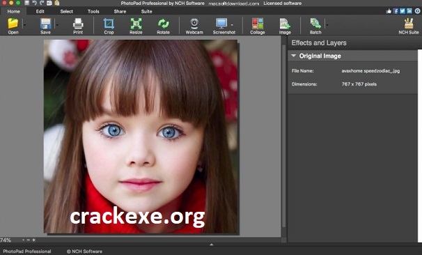 PhotoPad Image Editor 7.40 Crack With Serial Key 2021 Free