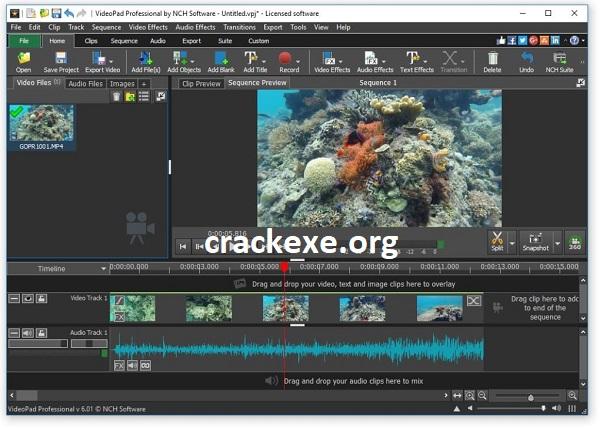 VideoPad Video Editor 10.49 Crack With Keygen 2021 Free