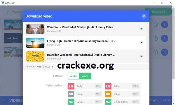 VidKeeper 1.0.1.2 Crack Plus Serial Key 2021 Free [Latest]
