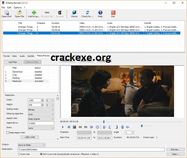 XMedia Recode 3.5.3.8 Crack With License Key 2021 Free